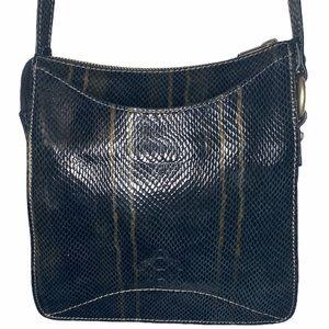 Black Sequin Crossbody Handbag